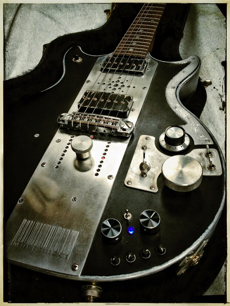 meloduende guitars workshop aluminium