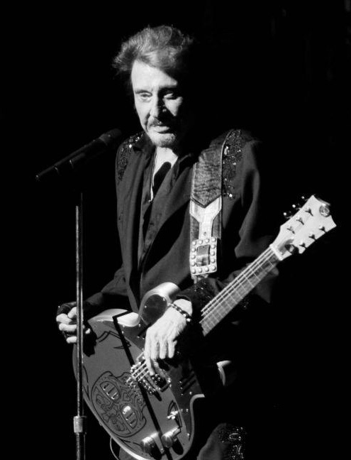 johnny hallyday meloduende guitars