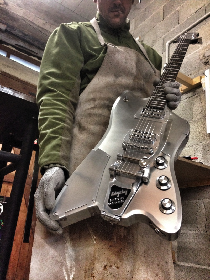 tin tin custom Meloduende guitars