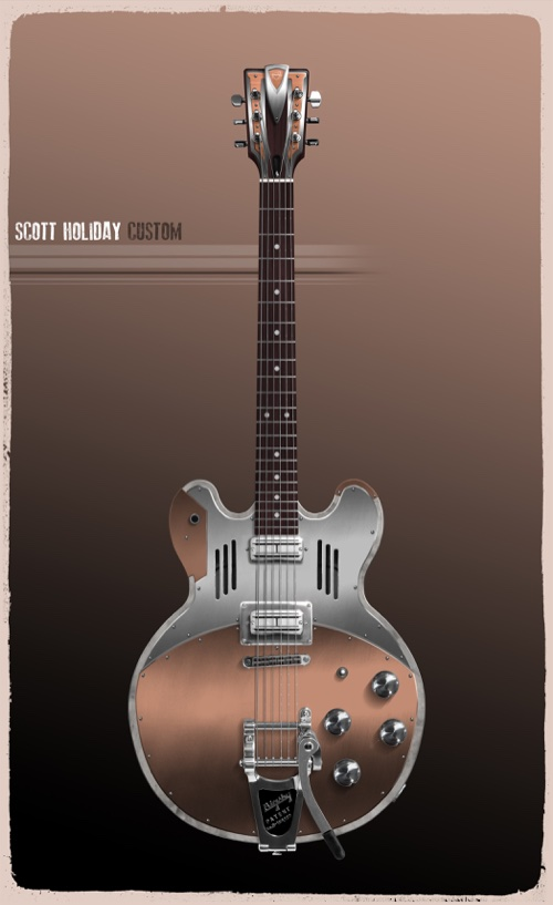 rival sons meloduende guitars exocet