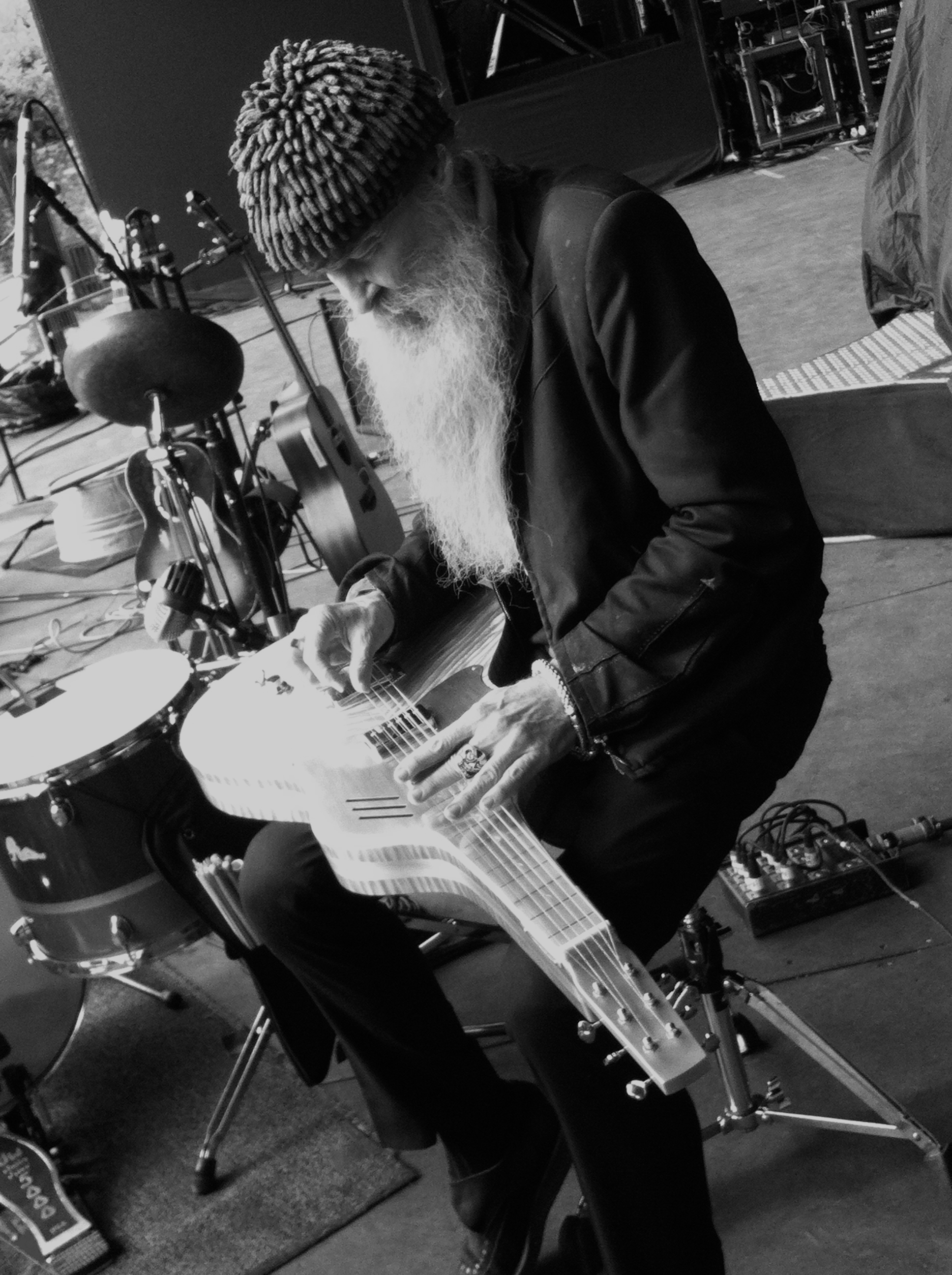 meloduende guitars Billy Gibbons